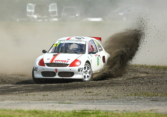 Colin Anson who claimed his first ever Supercar podium finish
