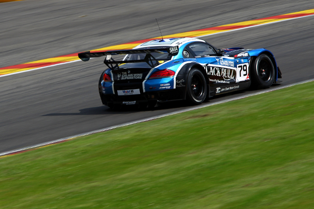 Attard and Sims swept the session in GT3 (Credit: Jakob Ebrey)