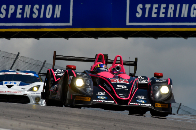 The OAK Racing teammates led the race from lights to flag (Courtesy of IMSA)