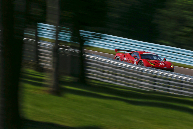 The Risi team are predicting wet weather during the Mosport weekend (Credit: Risi Competizione/Regis Lefebure)