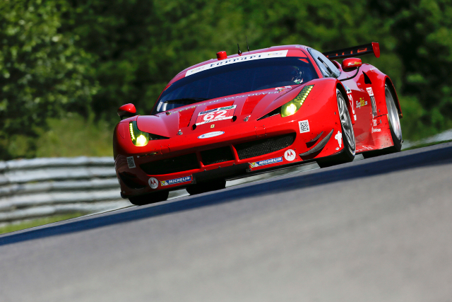 The Risi team hope rain on race day can level the playing field (Credit: Risi Competizione/Regis Lefebure)