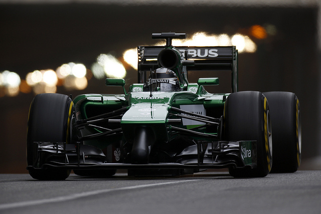 Monaco was the high point of a disappointing season for both drivers (Credit: Caterham F1 Team)