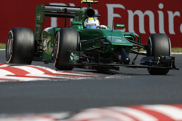 Marcus Ericsson has scored the team's best result of 2014 so far (Credit: Caterham F1 Team)