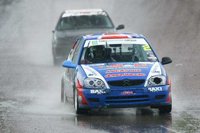 Craig Lomax managed to clinch the Hot Hatch 2014 title