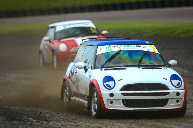 David Bell took the honors in the BMW Mini