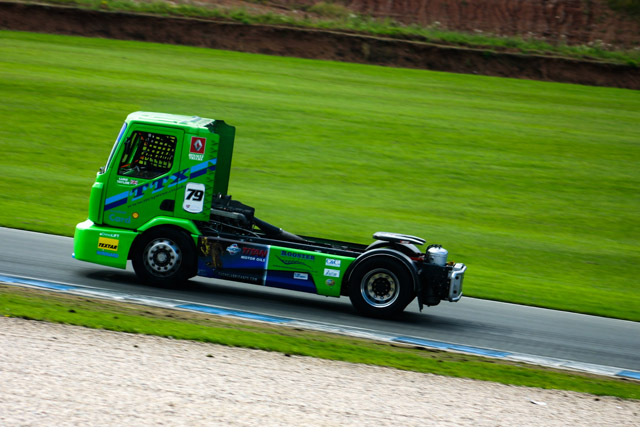 A racing truck doesn't look all that different to a road going unit (Credit: Nick Smith/The Image Team)