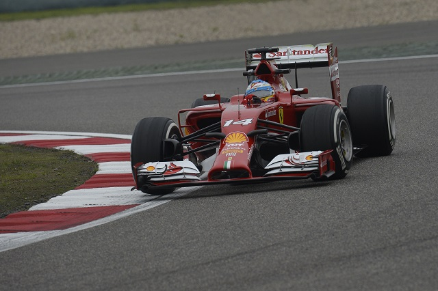 Fernando Alonso took his first podium of 2014 in China (Credit: Scuderia Ferrari Media)
