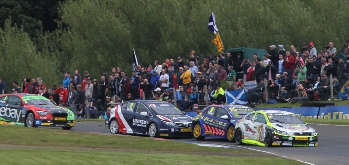 Geddie challenged to top 10 at Knockhill (Photo: btcc.net)