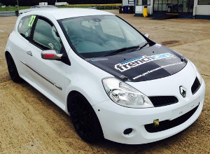 Honour's Back On Track With His New Clio - Credit: Jake Honour