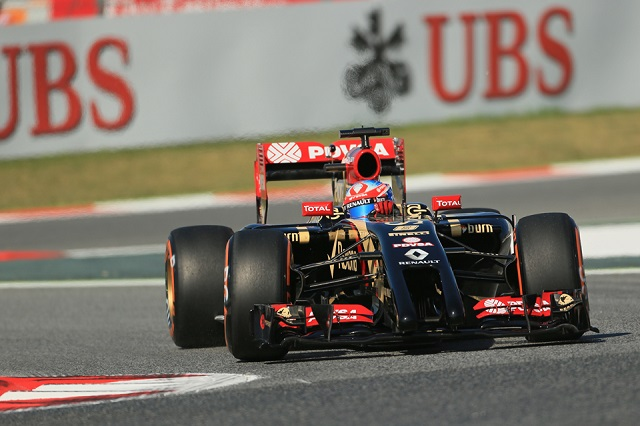 Grosjean had his best weekend of the year in Spain (Credit: Octane Photographic Ltd)