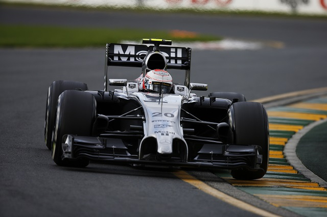 Kevin Magnussen took second place on debut in Australia (Credit: McLaren Media Centre)