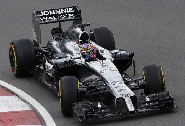Jenson Button took fourth in both Montreal and Silverstone (Credit: McLaren Media Centre)