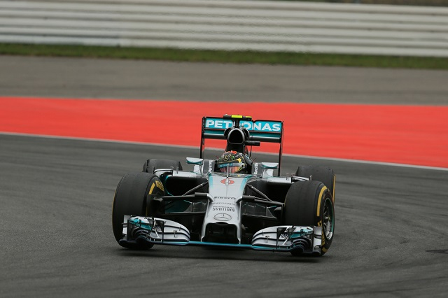 Nico Rosberg currently leads the championship on 202 points (Credit: Octane Photographic Ltd)