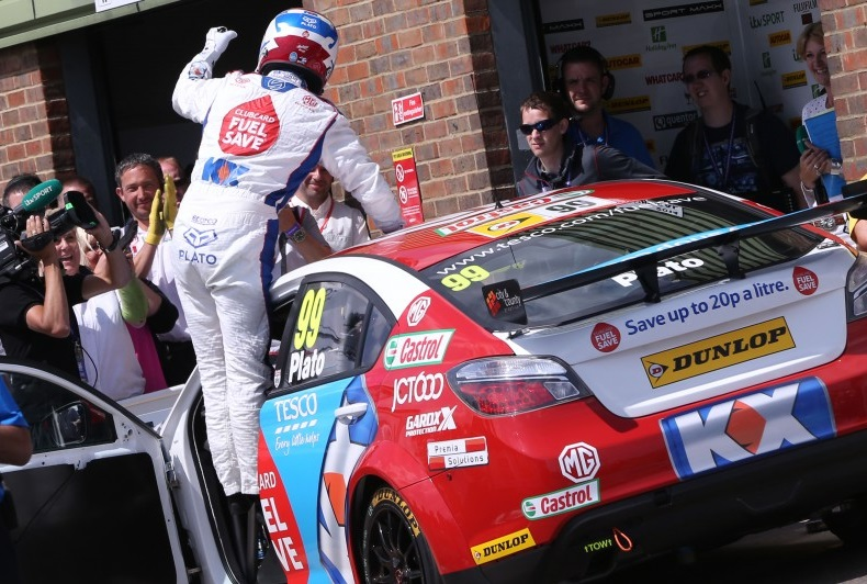 Plato won twice at Snetterton (Photo: btcc.net)