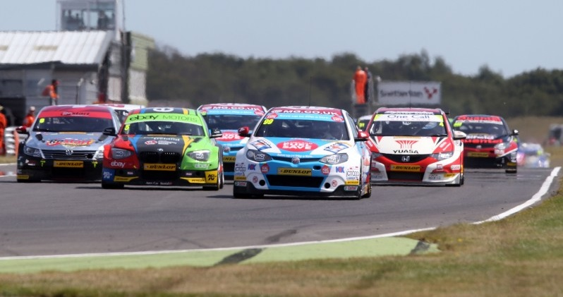 Jason Plato got the better of Turkington in races one and two (Photo: btcc.net)