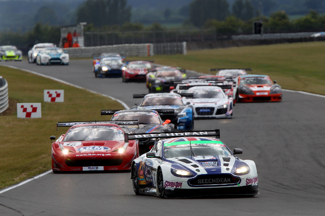 The British GT grid ends its summer break at Brands Hatch (Credit: Jakob Ebrey Photography)