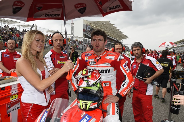 Cal Crutchlow (Photo Credit: Ducati)