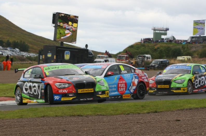 Turkington recovered from race one DNF (Photo: btcc.net)