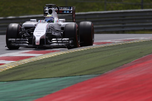 Felipe Massa took pole position in Austria (Credit: Glenn Dunbar/LAT Photographic)
