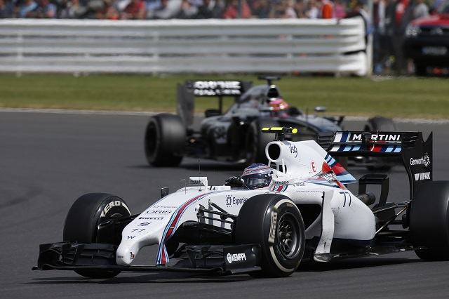 Valtteri Bottas took second at both Silverstone & Hockenheim (Credit: Glenn Dunbar/Williams F1)