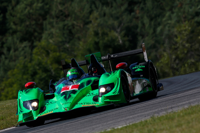 Dalziel deposed Richard Westbrook with the final lap of qualifying (Courtesy of IMSA)