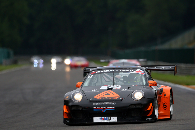 Firth and Hughes scored their best finish of the year at Spa (Credit: Jakob Ebrey Photography)