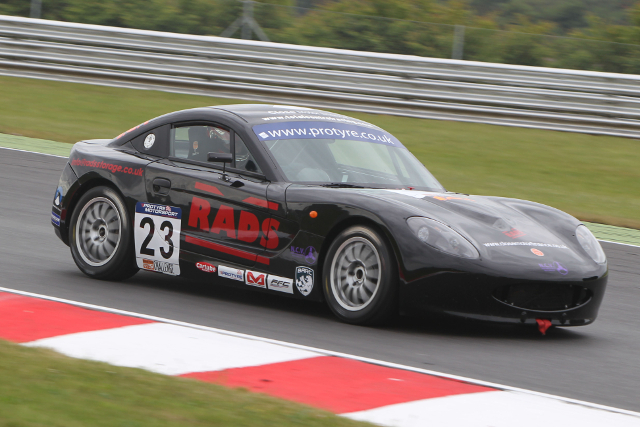 Gamble will start the first of the weekend's races from pole (Credit: Jakob Ebrey Photography)