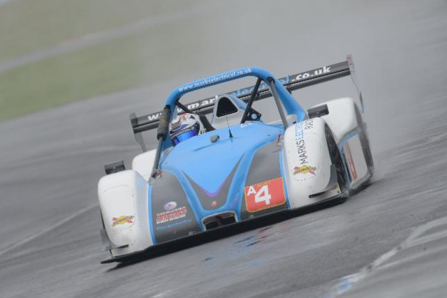 Second place at a soggy Castle Combe served Phil Keen well (Credit: Anglo American Oil Company)
