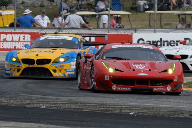 Risi Competizione scored their first win in GTLM, Turner Motorsports the third in GTD (Courtesy of IMSA)