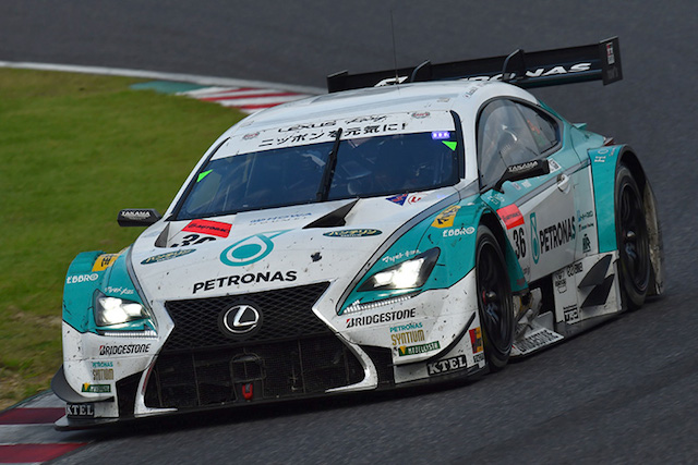 Could we see Lexus' RC F in the DTM in the near future? (Image credit: supergt.net)