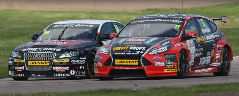 Race one charge was a highlight (Photo: btcc.net)