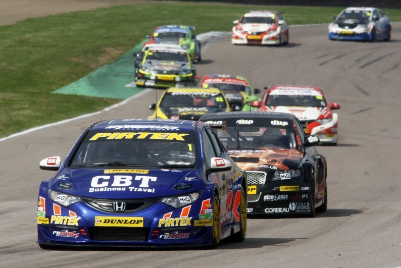 Jordan fought to a podium finish at Rockingham (Photo: btcc.net)