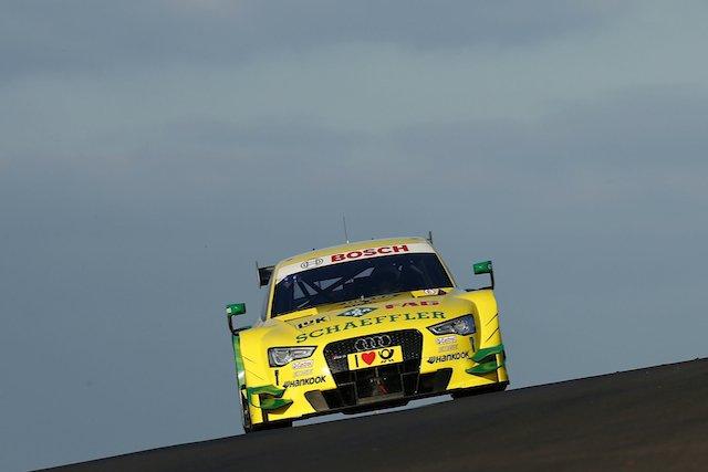 1 Mike Rockenfeller (D), Audi Sport Team Phoenix, Audi RS 5 DTM