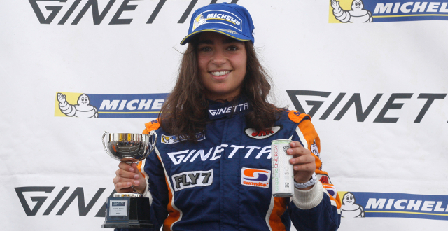 Chadwick Now Has Four Podium Finishes To Her Name This Season - Credit: Jakob Ebrey Photography