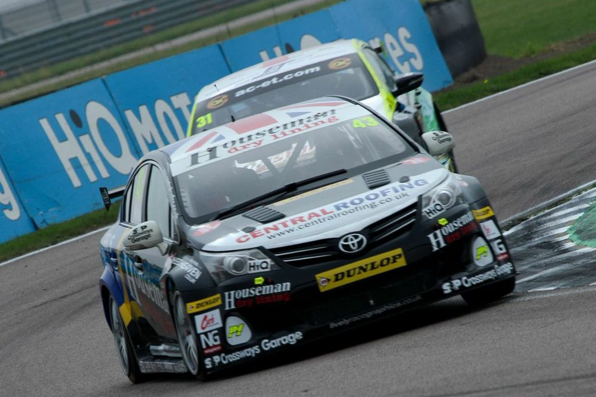 Lea Wood Rockingham 2014 BTCC