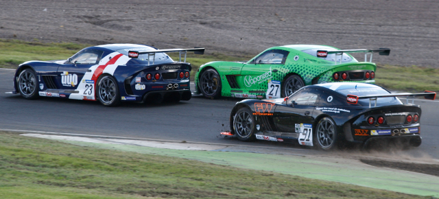 Davenport Was In The Thick Of The Fight In Race One - Credit: Jakob Ebrey Photography
