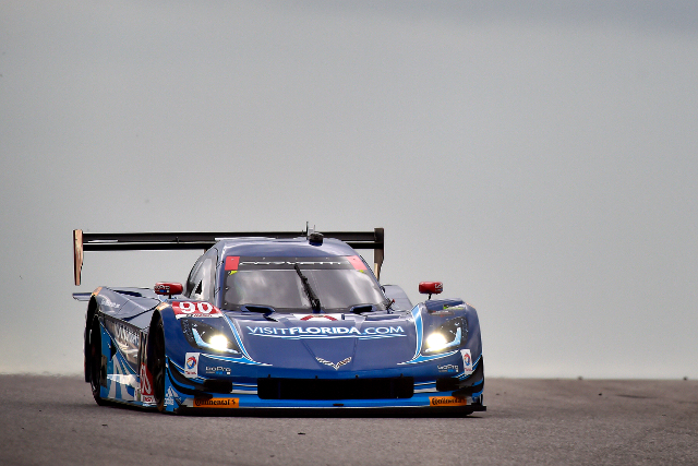 Richard Westbrook started the TUDOR Championship weekend fastest (Courtesy of IMSA)