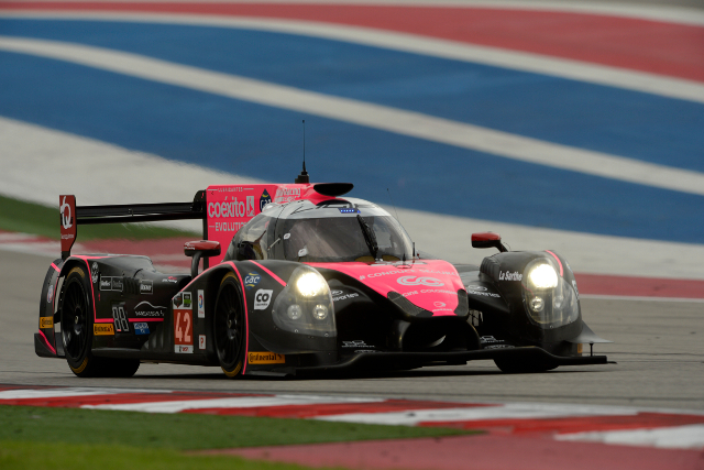 The LMP2 Ligier coupe is making its first appearance in the US (Courtesy of IMSA)