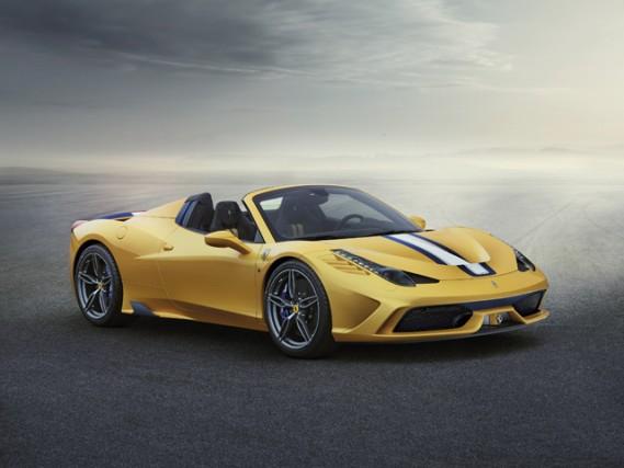 The Ferrari 458 Speciale A completes the 458 range. (Credit: Ferrari)