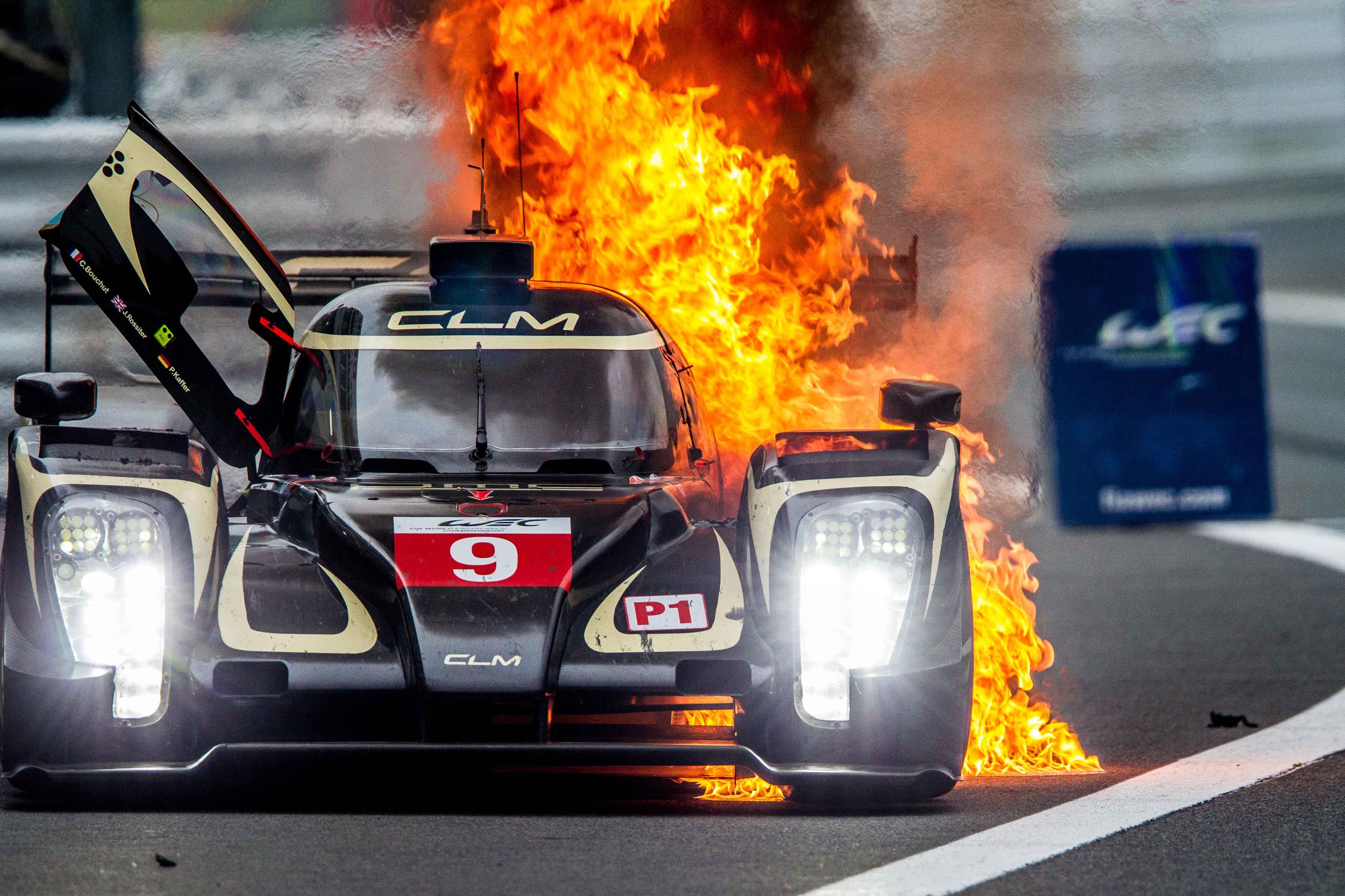 Toyota Take Dominant 1 2 In Lmp1 Ligier Win In Lmp2 Fia