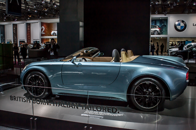 The MINI Superleggera Vision could well be the shape of Roadster things to come from MINI. (Credit: Nick Smith/The Image Team)