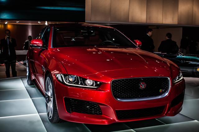 The new Jaguar XE brings the Birmingham firm back into a hotly contested market. (Credit: Nick Smith/The Image Team)