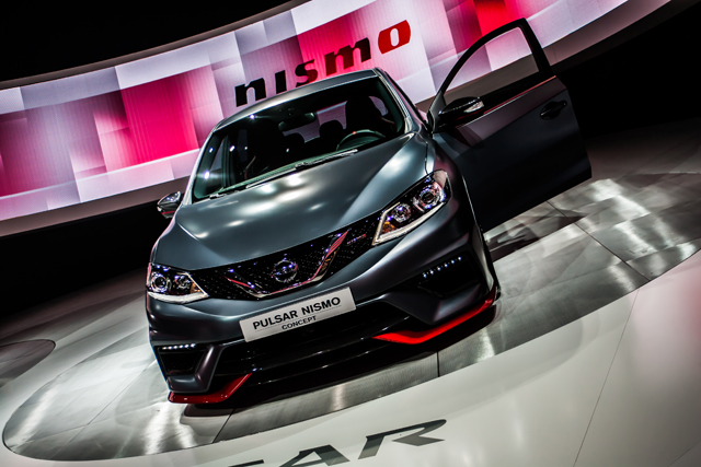 NISMO have worked their magic on Nissan's new Pulsar C-Segment hatch. (Credit: Nick Smith/The Image Team)
