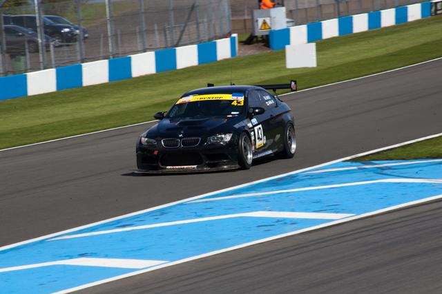Britcar's class 3 championship winning BMW.