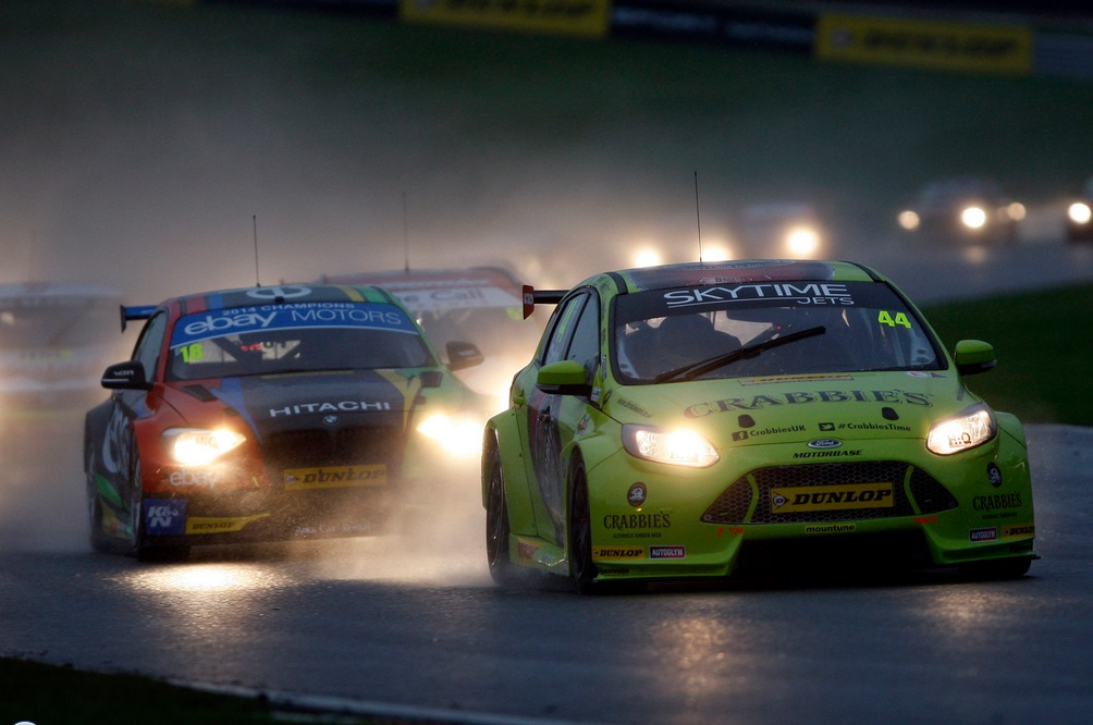 Jack Clarke BTCC Brands Hatch 2014