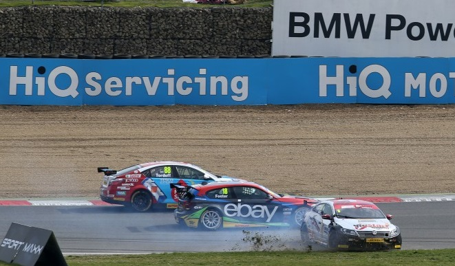 Incidents affected Menu's chances (Photo: btcc.net)