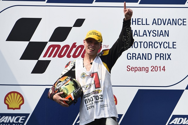 Esteve Rabat. 2014 Moto2 World Champion - Photo Credit: Marc VDS Racing
