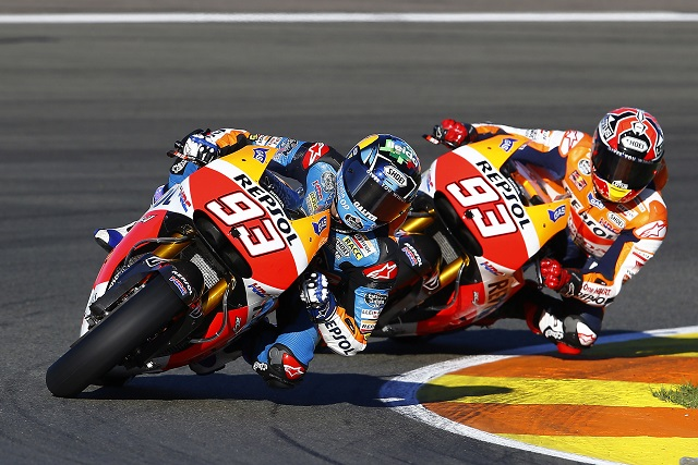 The Marquez brothers had many seeing double on Monday (Photo Credit: Repsol Honda)