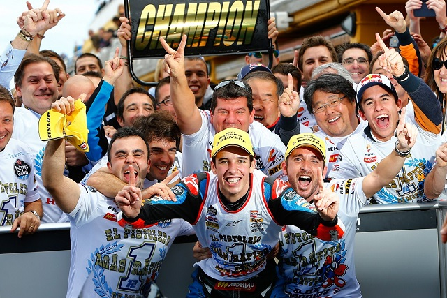 Alex and Marc Marquez have become the first brothers ever to win world championships in the same season - (Photo Credit: MotoGP.com)
