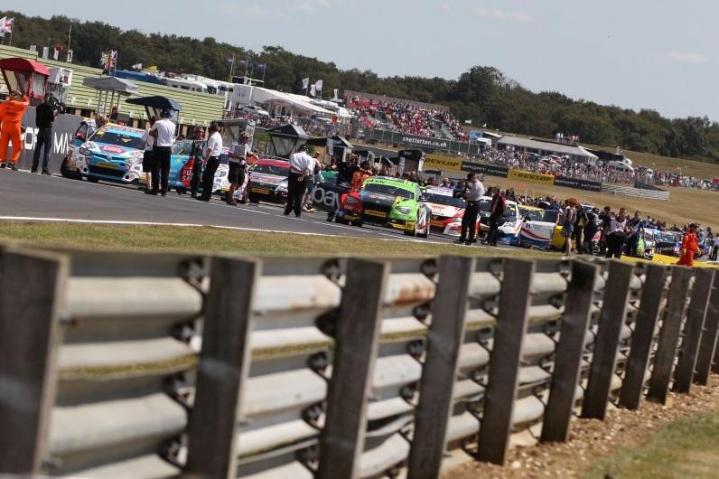 BTCC grid Snetterton 2014